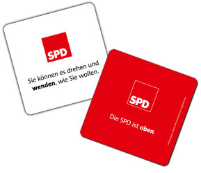 SPD Bierdeckel